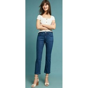 Anthropologie Pilcro High Rise Bootcut Jeans Crop